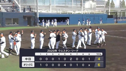 7月18日(土) ファーム公式戦「オリックスvs.中日」【試合結果、打席 ...
